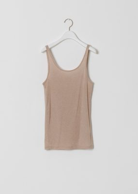 (AMOMENTO  SHEER SLEEVELESS (3COLORS