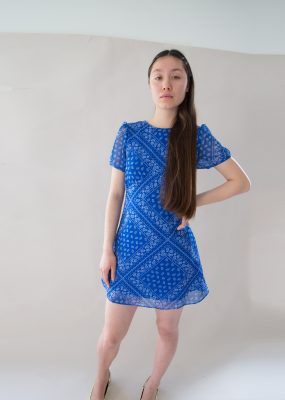 Curetty Paisley Mini dress