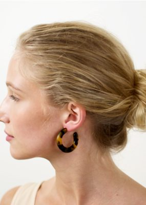 Machete Kate hoops in Amber