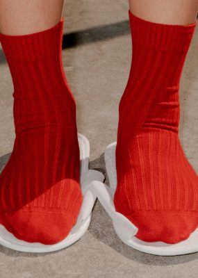 Over Ankle Socks – Cotton Rib