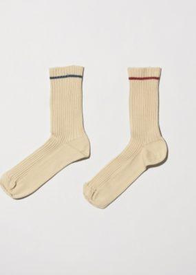 Rib Ankle Socks – Cotton Rib