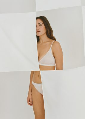 TRIANGLE BRA – The Nude Label