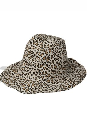 LEOPARD TWO WAY HAT