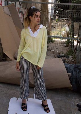 Yellow knit top – RocketxLunch