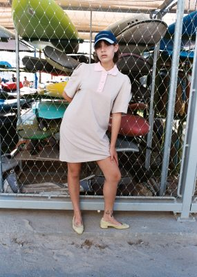 RocketXLunch PIQUE DRESS  – Last in stock