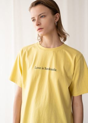 A sketch Tee – Yellow