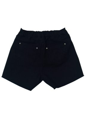 Denim Shorts – Black