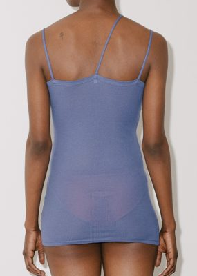 Nida Tank Top – Cotton Rib – tang blue