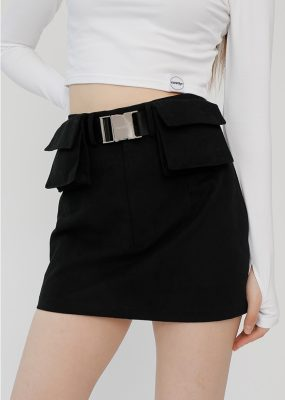 POCKET BELT SKIRT – Curetty