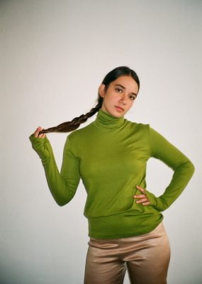 RocketxLunch Turtleneck – Green