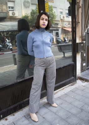 Gingham trousers – Open plan