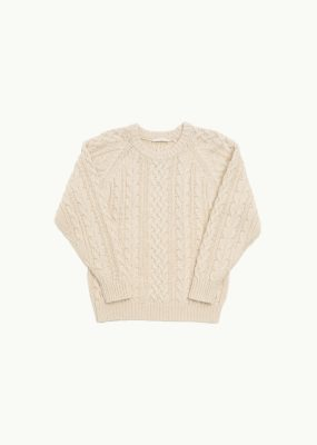 AMOMENTO  CABLE KNIT PULLOVER