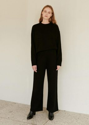 Oversized Knit pants – AMONG