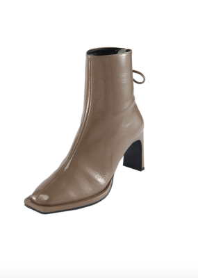 Ribbon Square Thin Boots – REIKE NEN
