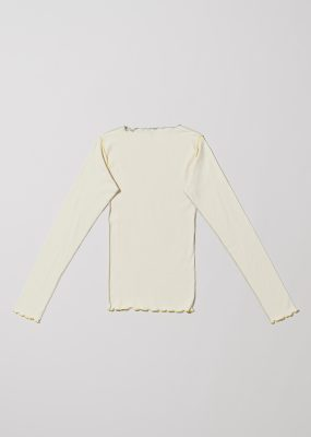 Vein Long Sleeve – Cotton Rib
