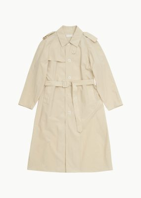AMOMENTO LIGHT TRENCH COAT