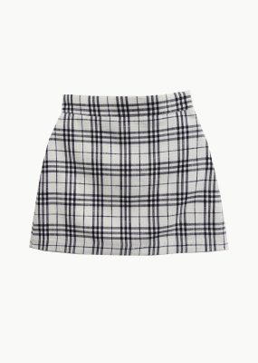 Curetty Check skirt