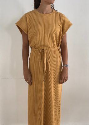 Shaw Kaftan Sleeveless Dress – Fleece Rib