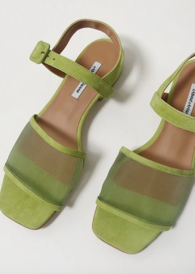 Marini Mesh Sandal in Lime Green