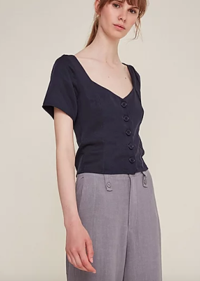 CHIARA Top / Navy