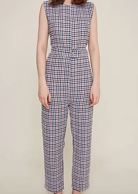 Rita Raw check Jumpsuit