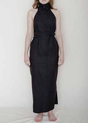 Napkin Dress – Raw Silk