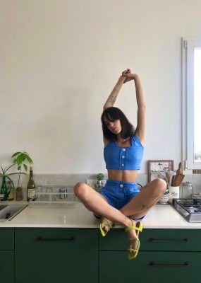 Bra Top – Blue