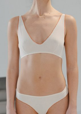 Pam Bra – Cotton Rib / off white