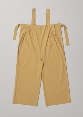 LENCE PANTS – Raw Silk / Gold