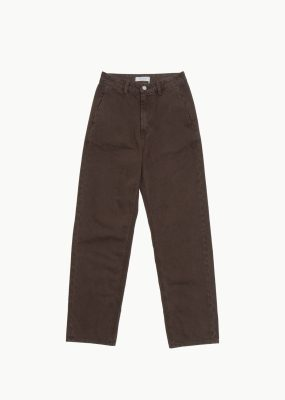 AMOMENTO SILHOUETTE DENIM – Brown