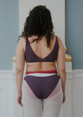 Pam Bra – Cotton Rib / Purple