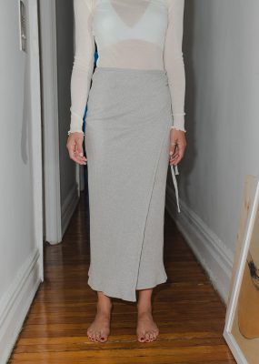 Brig Skirt – Fleece Rib