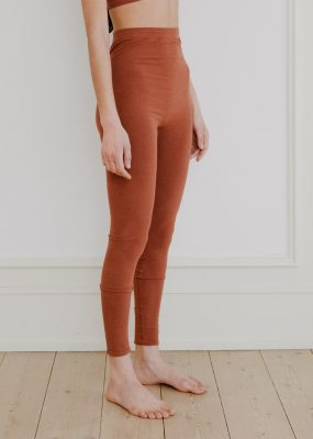 Oleta Legging in Rust