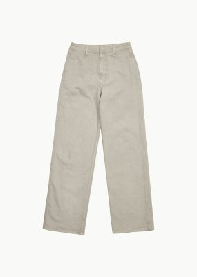 AMOMENTO SEMI WIDE BOOT CUT – (SAGE GREEN)