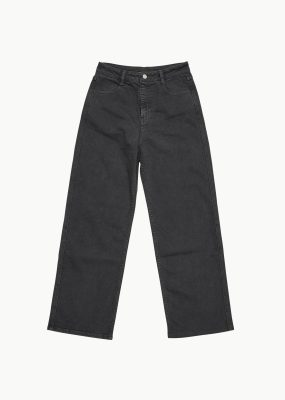 AMOMENTO SEMI WIDE BOOT CUT – DARK GREY