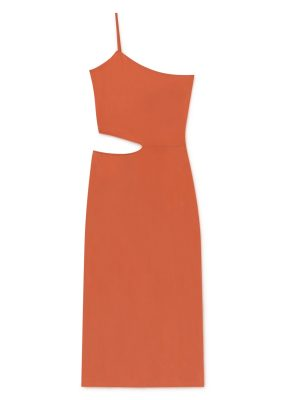 SAY Dress (ORANGE)- Paloma wool